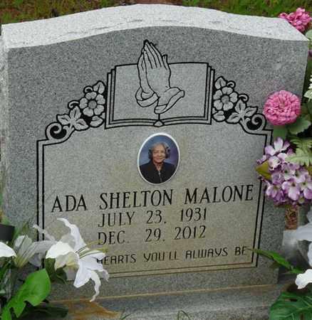 SHELTON MALONE, ADA - Colbert County, Alabama | ADA SHELTON MALONE - Alabama Gravestone Photos