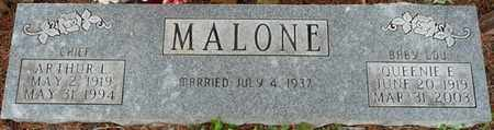 MALONE, QUEENIE E - Colbert County, Alabama | QUEENIE E MALONE - Alabama Gravestone Photos