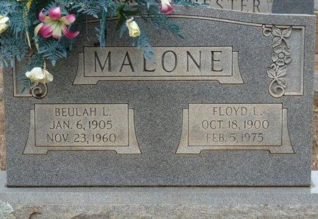 MALONE, BEULAH L - Colbert County, Alabama | BEULAH L MALONE - Alabama Gravestone Photos