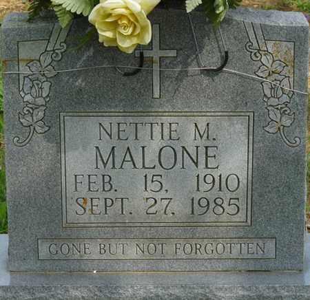 MALONE, NETTIE M - Colbert County, Alabama   NETTIE M MALONE - Alabama Gravestone Photos