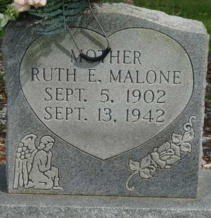 MALONE, RUTH E - Colbert County, Alabama   RUTH E MALONE - Alabama Gravestone Photos