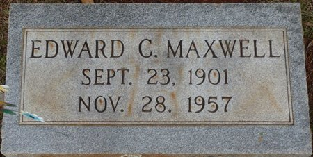 MAXWELL, EDWARD C - Colbert County, Alabama | EDWARD C MAXWELL - Alabama Gravestone Photos