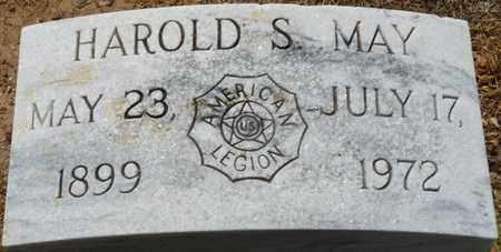 MAY, HAROLD S - Colbert County, Alabama | HAROLD S MAY - Alabama Gravestone Photos