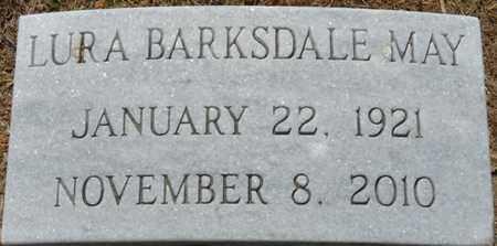 BARKSDALE MAY, LURA - Colbert County, Alabama | LURA BARKSDALE MAY - Alabama Gravestone Photos