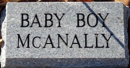 MCANALLY, INFANT SON - Colbert County, Alabama   INFANT SON MCANALLY - Alabama Gravestone Photos