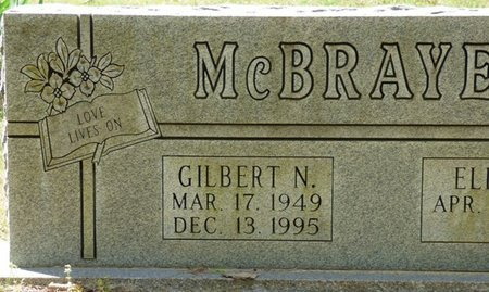 MCBRAYER, GILBERT N - Colbert County, Alabama | GILBERT N MCBRAYER - Alabama Gravestone Photos