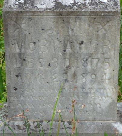 MCBRAYER, J.M. - Colbert County, Alabama   J.M. MCBRAYER - Alabama Gravestone Photos