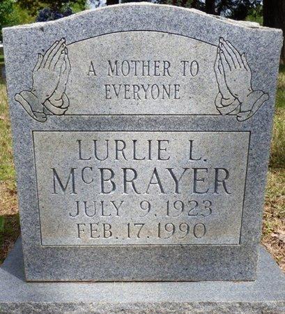 MCBRAYER, LURLIE L - Colbert County, Alabama | LURLIE L MCBRAYER - Alabama Gravestone Photos