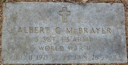 MCBRAYER (VETERAN WWII), ALBERT C - Colbert County, Alabama | ALBERT C MCBRAYER (VETERAN WWII) - Alabama Gravestone Photos