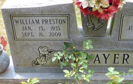 MCBRAYER, WILLIAM PRESTON - Colbert County, Alabama | WILLIAM PRESTON MCBRAYER - Alabama Gravestone Photos