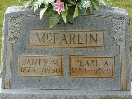 MCFARLIN, JAMES M - Colbert County, Alabama | JAMES M MCFARLIN - Alabama Gravestone Photos