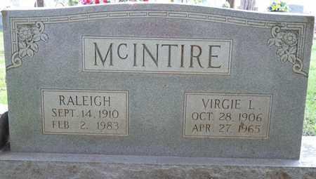 MCINTIRE, VIRGIE L - Colbert County, Alabama | VIRGIE L MCINTIRE - Alabama Gravestone Photos