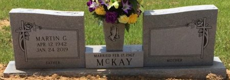 MCKAY, MARTIN G - Colbert County, Alabama   MARTIN G MCKAY - Alabama Gravestone Photos