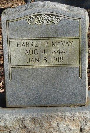 MCVAY, HARRET P - Colbert County, Alabama | HARRET P MCVAY - Alabama Gravestone Photos