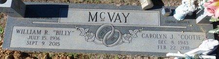 "MCVAY, CAROLYN J. ""COOTIE"" - Colbert County, Alabama   CAROLYN J. ""COOTIE"" MCVAY - Alabama Gravestone Photos"