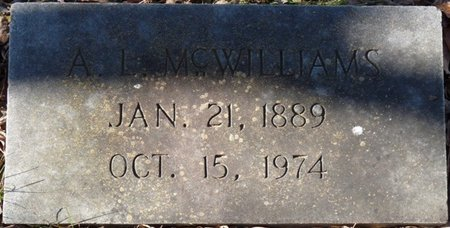 MCWILLIAMS, ANDY LEE - Colbert County, Alabama | ANDY LEE MCWILLIAMS - Alabama Gravestone Photos