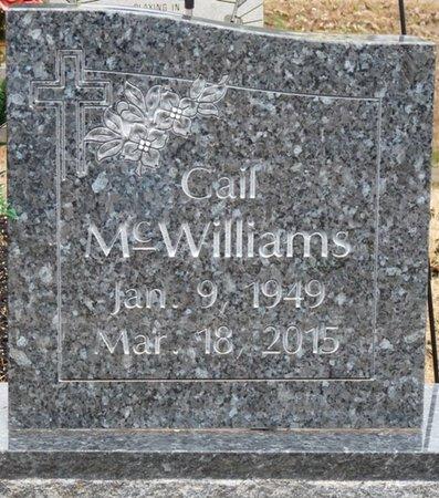 MCWILLIAMS, BARBARA GAIL - Colbert County, Alabama | BARBARA GAIL MCWILLIAMS - Alabama Gravestone Photos