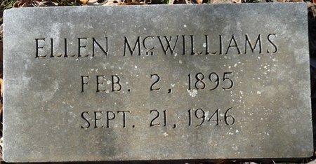 MCWILLIAMS, ELLEN - Colbert County, Alabama   ELLEN MCWILLIAMS - Alabama Gravestone Photos