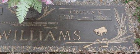 MCWILLIAMS, REBECCA B - Colbert County, Alabama | REBECCA B MCWILLIAMS - Alabama Gravestone Photos