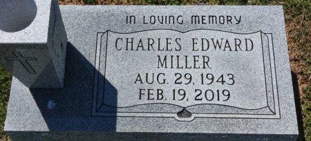 MILLER, CHARLES EDWARD - Colbert County, Alabama   CHARLES EDWARD MILLER - Alabama Gravestone Photos