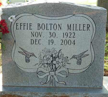 BOLTON MILLER, EFFIE - Colbert County, Alabama | EFFIE BOLTON MILLER - Alabama Gravestone Photos