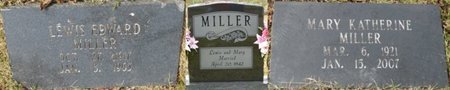 MILLER, LEWIS EDWARD - Colbert County, Alabama | LEWIS EDWARD MILLER - Alabama Gravestone Photos