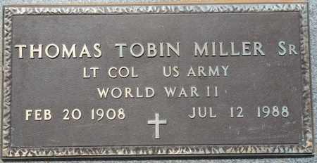 MILLER SR. (VETERAN WWII), THOMAS TOBIN - Colbert County, Alabama | THOMAS TOBIN MILLER SR. (VETERAN WWII) - Alabama Gravestone Photos