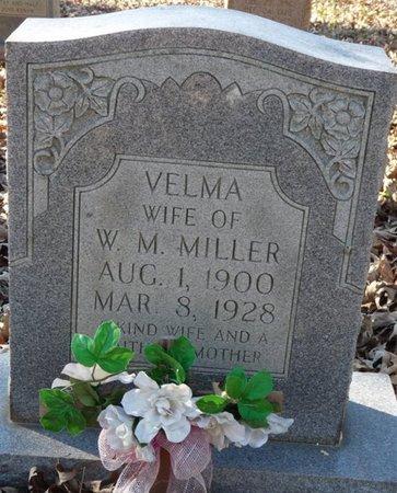 MILLER, VELMA - Colbert County, Alabama   VELMA MILLER - Alabama Gravestone Photos