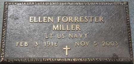 FORRESTER MILLER (VETERAN), ELLEN - Colbert County, Alabama | ELLEN FORRESTER MILLER (VETERAN) - Alabama Gravestone Photos