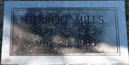 MILLS, HERBERT - Colbert County, Alabama   HERBERT MILLS - Alabama Gravestone Photos