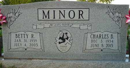 MINOR, CHARLES B - Colbert County, Alabama | CHARLES B MINOR - Alabama Gravestone Photos