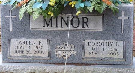 MINOR, EARLEN FRANKLIN - Colbert County, Alabama | EARLEN FRANKLIN MINOR - Alabama Gravestone Photos