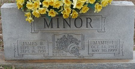 MINOR, JAMES BENJAMIN - Colbert County, Alabama | JAMES BENJAMIN MINOR - Alabama Gravestone Photos