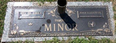MINOR, JOAN ELIZABETH - Colbert County, Alabama | JOAN ELIZABETH MINOR - Alabama Gravestone Photos