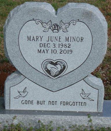 MINOR, MARY JUNE - Colbert County, Alabama | MARY JUNE MINOR - Alabama Gravestone Photos