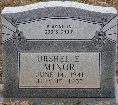 MINOR, URSHEL E - Colbert County, Alabama | URSHEL E MINOR - Alabama Gravestone Photos