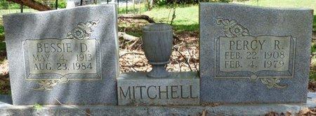 MITCHELL, BESSIE D - Colbert County, Alabama | BESSIE D MITCHELL - Alabama Gravestone Photos