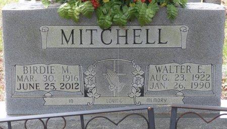MITCHELL, WALTER E - Colbert County, Alabama | WALTER E MITCHELL - Alabama Gravestone Photos