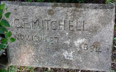 MITCHELL, C.E. - Colbert County, Alabama   C.E. MITCHELL - Alabama Gravestone Photos
