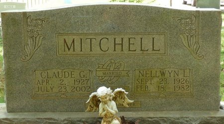 MITCHELL, CLAUDE G - Colbert County, Alabama | CLAUDE G MITCHELL - Alabama Gravestone Photos