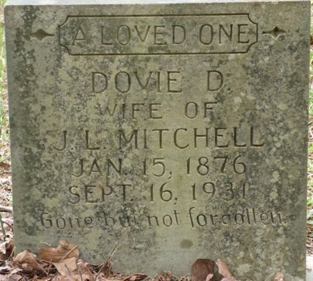 MITCHELL, DOVIE D - Colbert County, Alabama   DOVIE D MITCHELL - Alabama Gravestone Photos