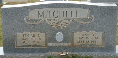 MITCHELL, EDGAR J - Colbert County, Alabama | EDGAR J MITCHELL - Alabama Gravestone Photos