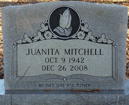 MITCHELL, JUANITA - Colbert County, Alabama | JUANITA MITCHELL - Alabama Gravestone Photos