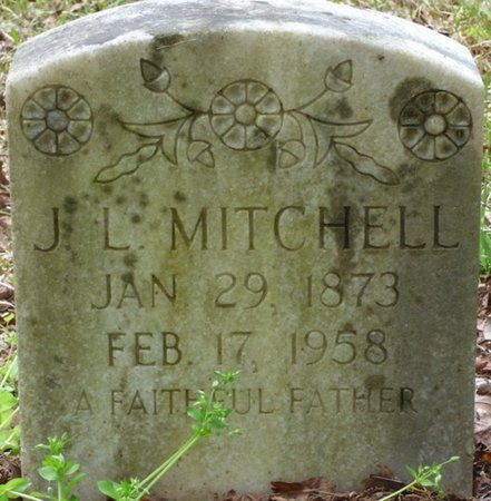 MITCHELL, J.L. - Colbert County, Alabama | J.L. MITCHELL - Alabama Gravestone Photos