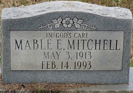 MITCHELL, MABLE E - Colbert County, Alabama   MABLE E MITCHELL - Alabama Gravestone Photos