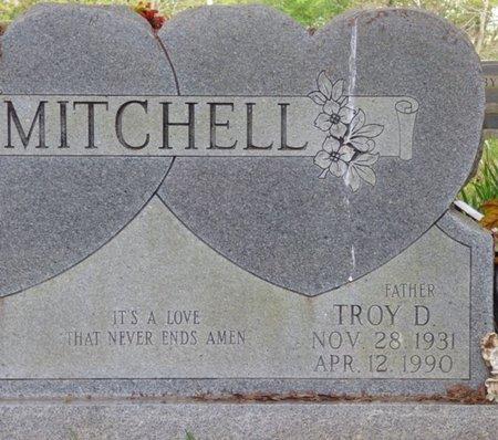 MITCHELL, TROY D - Colbert County, Alabama | TROY D MITCHELL - Alabama Gravestone Photos