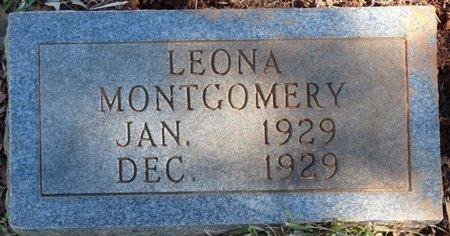 MONTGOMERY, LEONA - Colbert County, Alabama   LEONA MONTGOMERY - Alabama Gravestone Photos