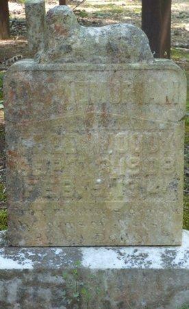 MOODY, FRED - Colbert County, Alabama | FRED MOODY - Alabama Gravestone Photos