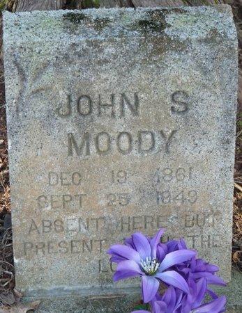 MOODY, JOHN S - Colbert County, Alabama | JOHN S MOODY - Alabama Gravestone Photos