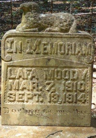 MOODY, LAFA - Colbert County, Alabama | LAFA MOODY - Alabama Gravestone Photos